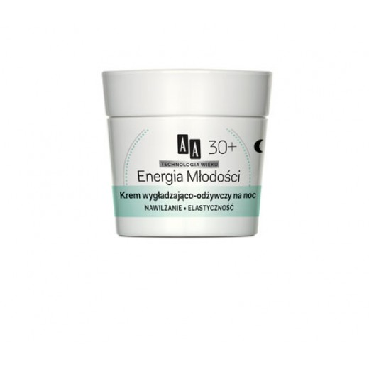 AA Energy of Youth smoothing and nourishing night cream
