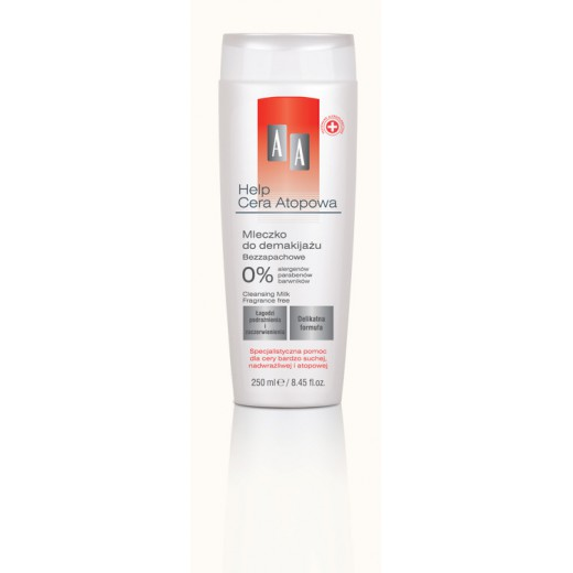 AA Help Atopic Skin Cleansing Milk