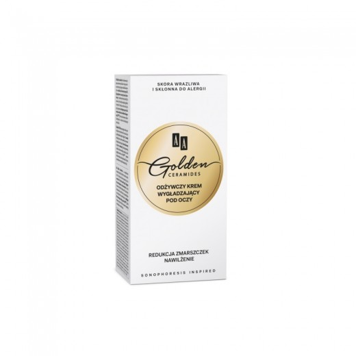 AA Golden Ceramides Conditioning and smoothening eye contour cream
