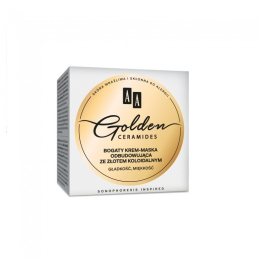 AA Golden Ceramides Rich rebuilding cream mask