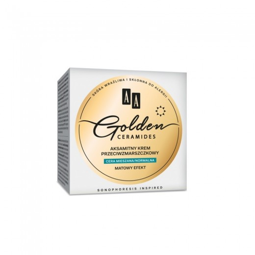 AA Golden Ceramides Velvet anti-wrinkle day cream combination/normal skin