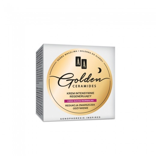 AA Golden Ceramides Intensive regenerating night cream dry/normal skin