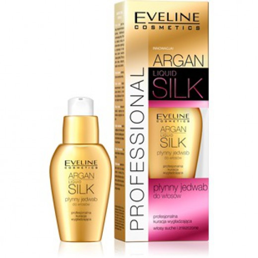 Eveline Argan + Silk liquid hair silk