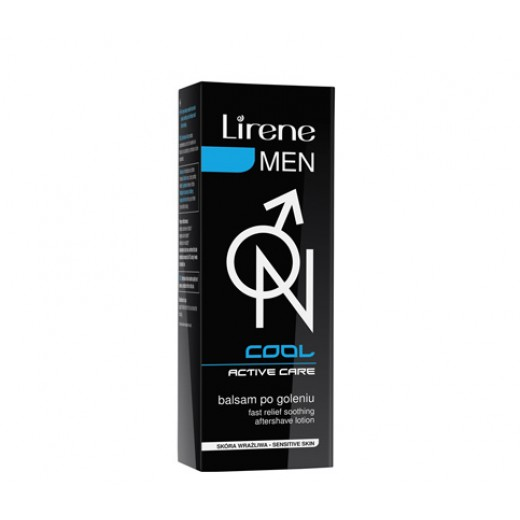 Lirene Men Cool-ON fast relief soothing after-shave lotion